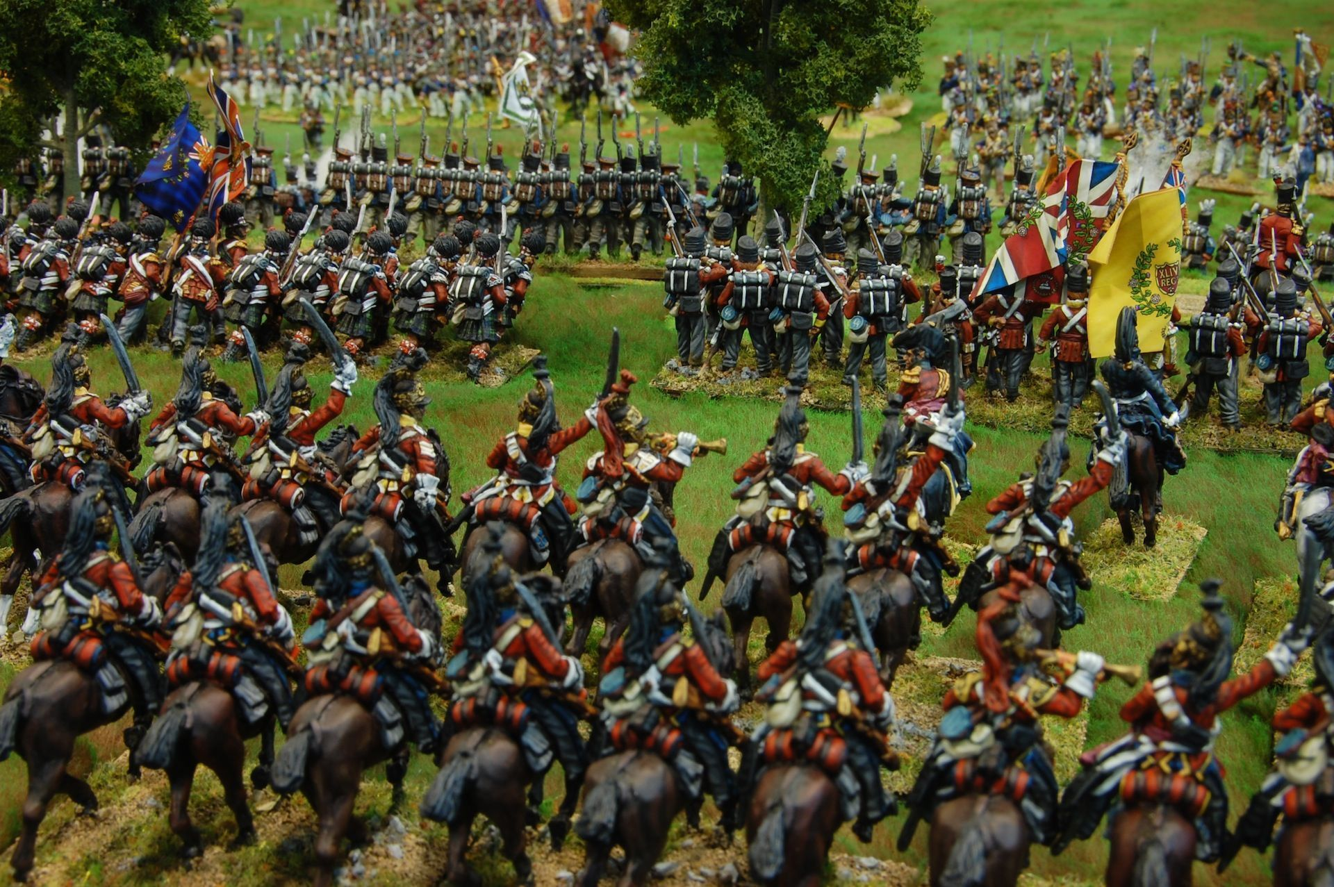 Waterloo 1815: L'attac de D'Erlon amb Black Powder, 28mm