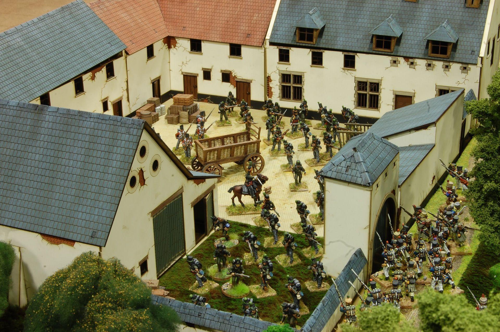 La Haye Sainte amb Musket & Tomahawk, 28mm