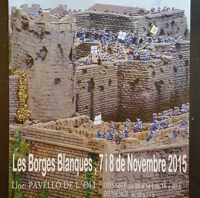 IV FIRA DE MODELISME I WARGAMES DE LES BORGES BLANQUES