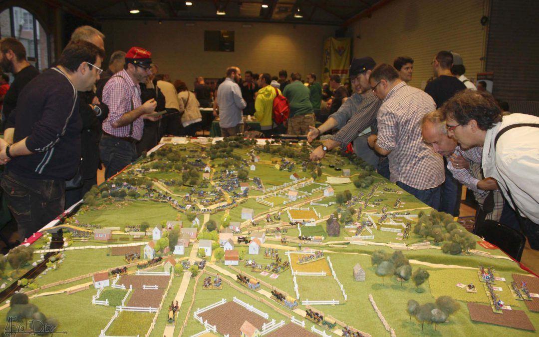 La batalla de Gettysburg en Alpha Ares 2016