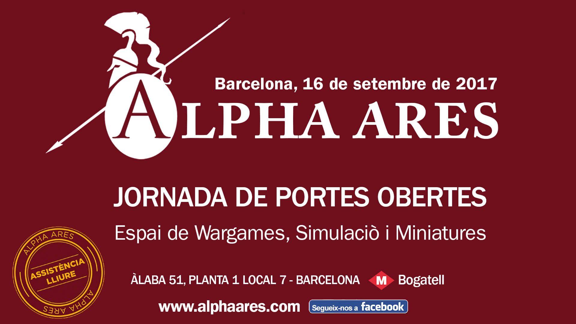 Alpha Ares portes obertes