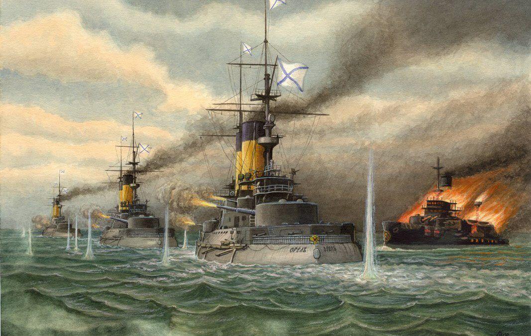 La batalla de Tsushima en DAU Histórico con Alpha Ares