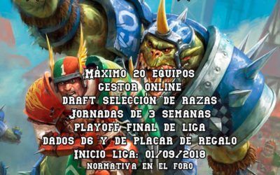 "Liga de Blood Bowl ""La Peloch8 League"""